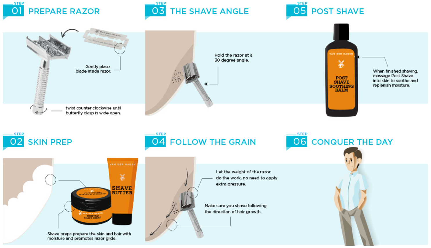 HOW TO USE A SAFETY RAZOR
